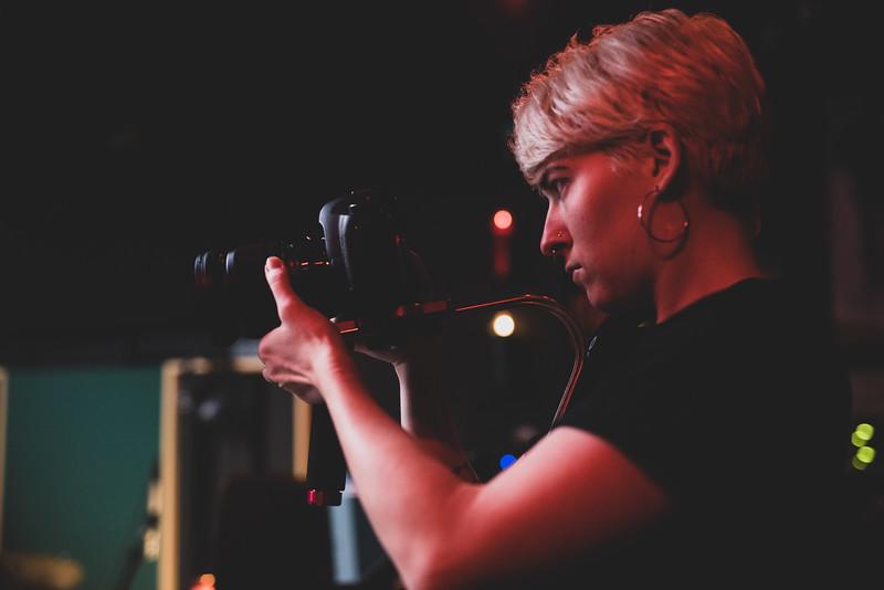 Sarah McCaskill films Lesly Reynaga
