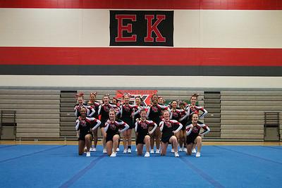 2012, January 24 East Kentwood Cheer