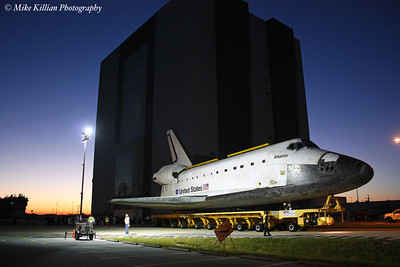 Space Shuttle Atlantis Transition & Retirement