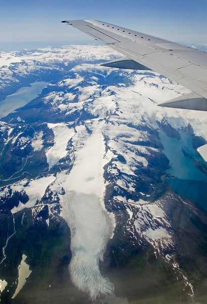 The coastal glaciers of southeast Alaska.