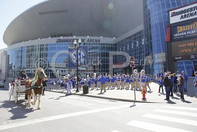 2012-Women-SEC-PepRally-Band+Cheerleaders