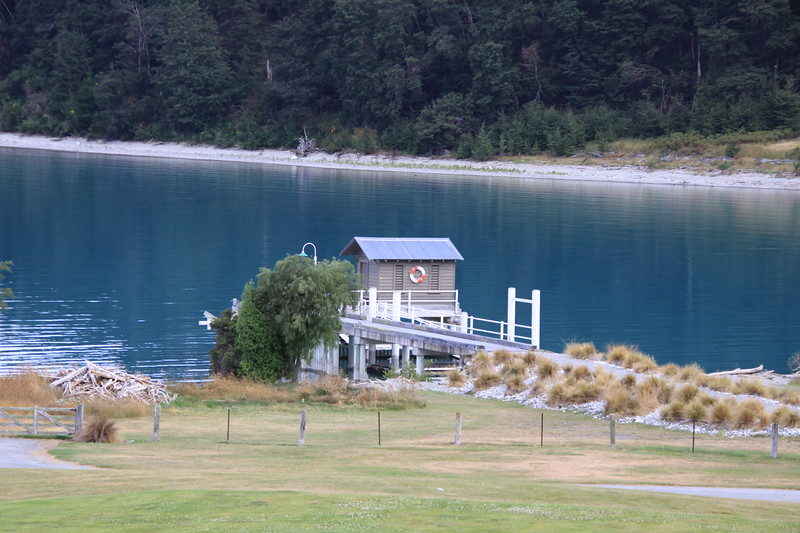 Blanket Bay dock