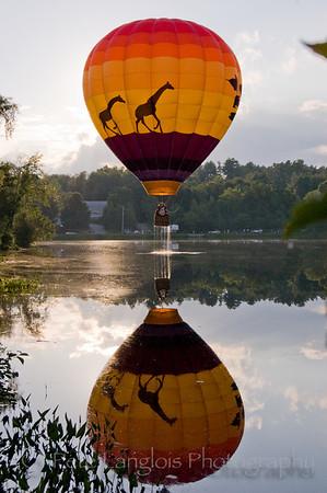 2008 27th Annual Pittsfield Rotary Hot Air Balloon Rally