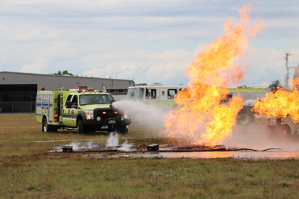 Live Burn - Bradley Int Airport, South Widsor, CT - 8/17/20