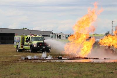 Live Burn - Bradley Int Airport, South Widsor, CT - 8/17/20