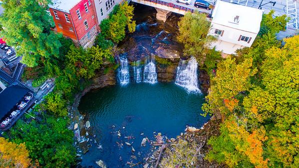 Chagrin Falls - Drone Photos