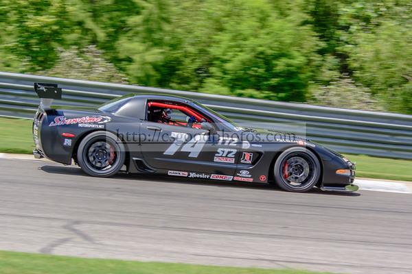 KL 74 Black Corvette