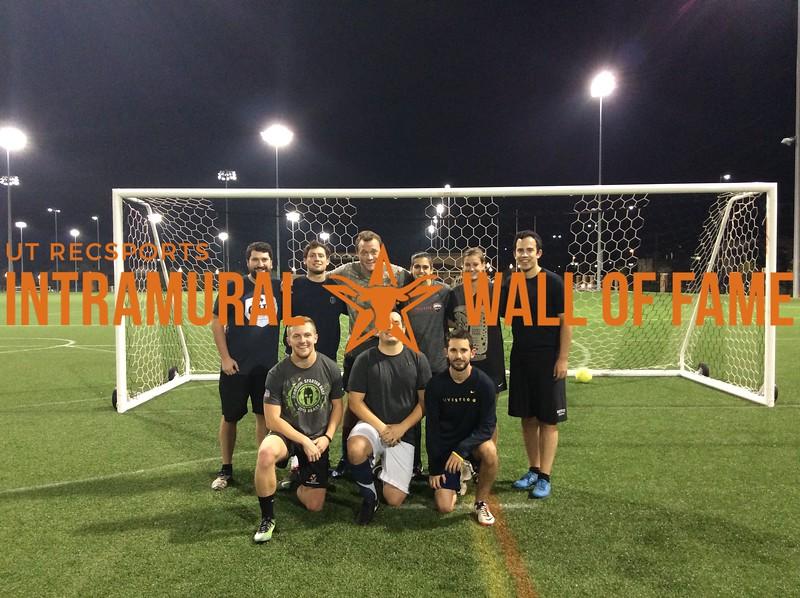 7v7 Fall 2017 Soccer Coed B Champion Tortorious Defense