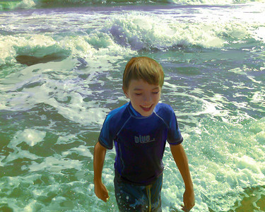 Moore Beach Scene #2