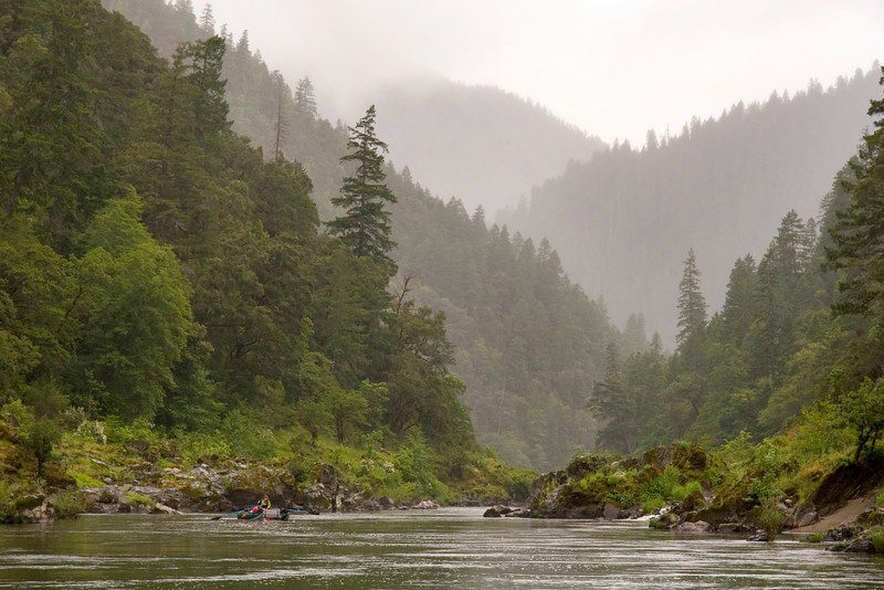 Spring Rogue rafting trips can be both wet and beautiful.