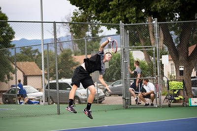 CCHS Tennis vs Doherty 2017-08-24