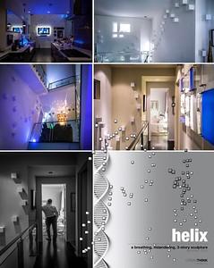 HELIX Sculpture 3 Stories