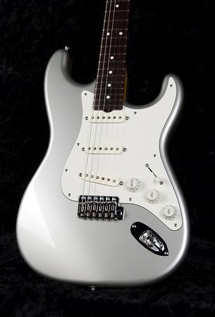 NOS Retro #3829, Inca Silver, Grosh S/S/S Pickups