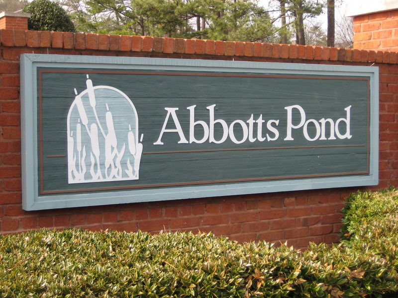 Abbotts Pond Johns Creek Neighborhood Of Homes