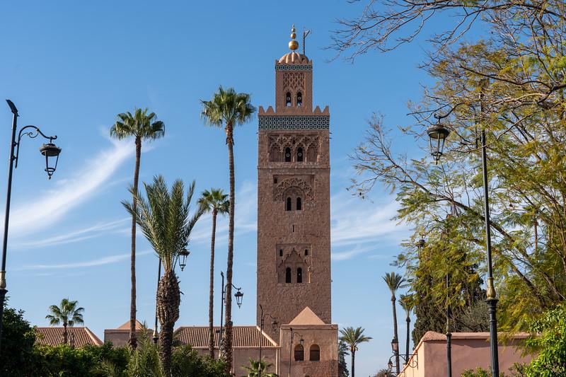 Koutoubia Mosque in Marrakech, Morocco