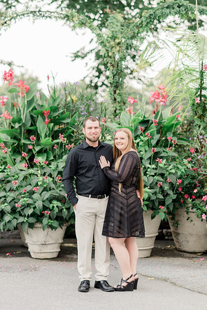 Rebecca and Dalton's Engagement at Longwood Gardens