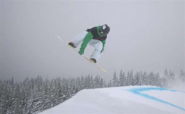 Mt. Hood Meadows Snowboard Comp