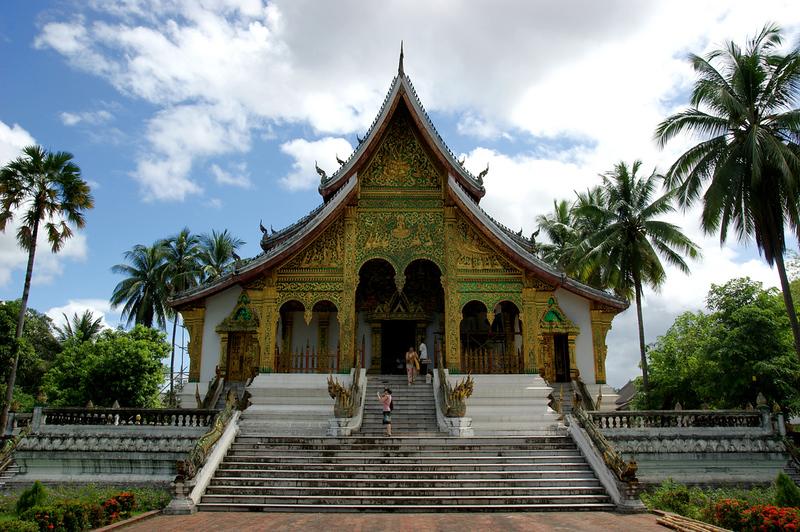 2009-08-30 09-03 Luang Prabang 045 Ho Kham Königspalast, Ho Pha Bang