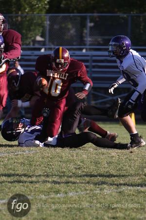 Southwest v Roosevelt Football 10-9-09