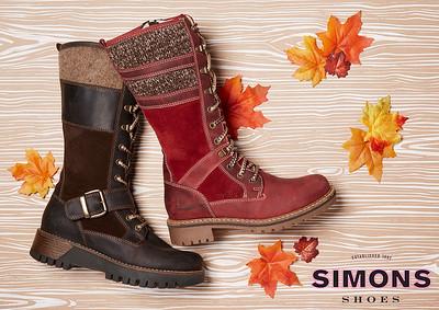 Simons Shoes Campaign