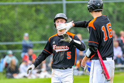 2017-06-03 Oxford Hills Vikings vs. Brewer Witches Baseball