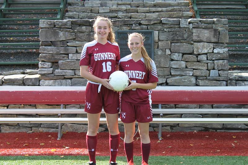 Girls Varsity Soccer Captains