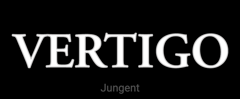 Vertigo logo black background