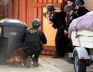 Fleeing felon at large in Fairfield