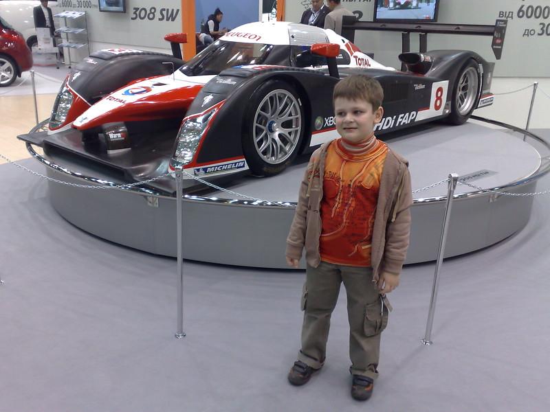Костя на Kyiv Automotive Show 2008