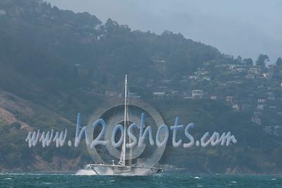l'hydroptere DCNS Record Runs SF Bay