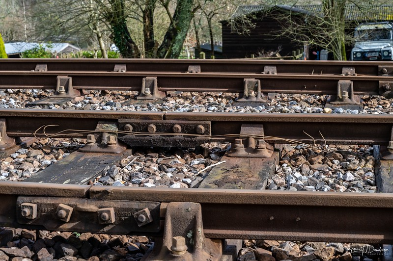 Most photos taken at preserved railways focus on the glamour of the locomotives, stock and buildings.  This is one of several photos I have taken at the Bluebell Railway to show some of the more mundane but essential detail required to run any railway.