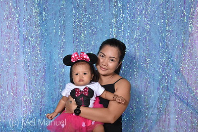Amia Lopez Tabalno 1st Birthday Party September 14,  2019