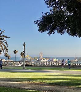 The Bowmans in Santa Monica 2021