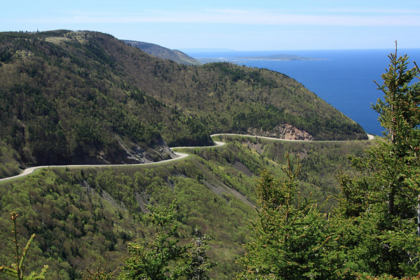 Cabot Trail and Cape Breton NP May 2009