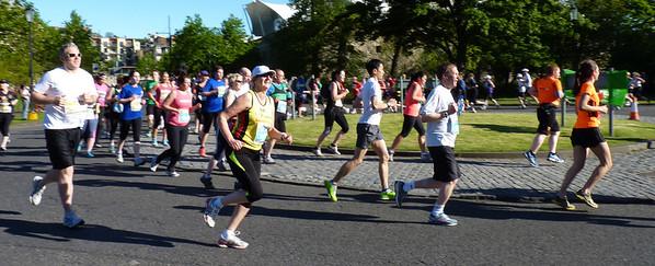 EMF Edinburgh marathon festival 26.5.2013