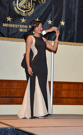 Ms  Black & Gold 2015 Gowns  Springfield, Illinois