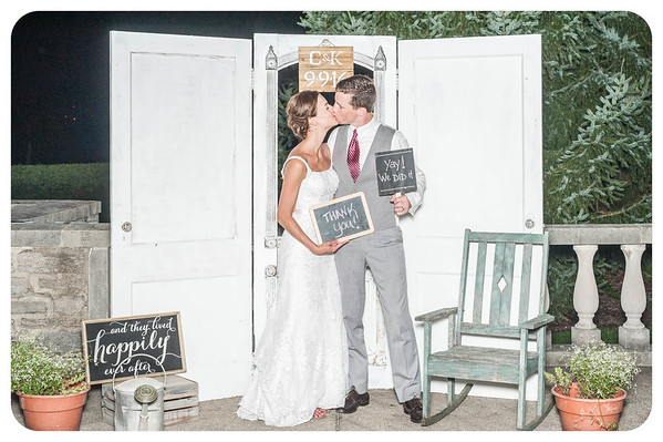 Kory + Charlie Wedding Photobooth