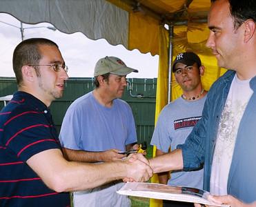 2005-7-27 - Meeting Dave Matthews