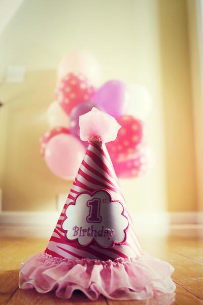 Kensington Nicole | First Birthday Party | 2013