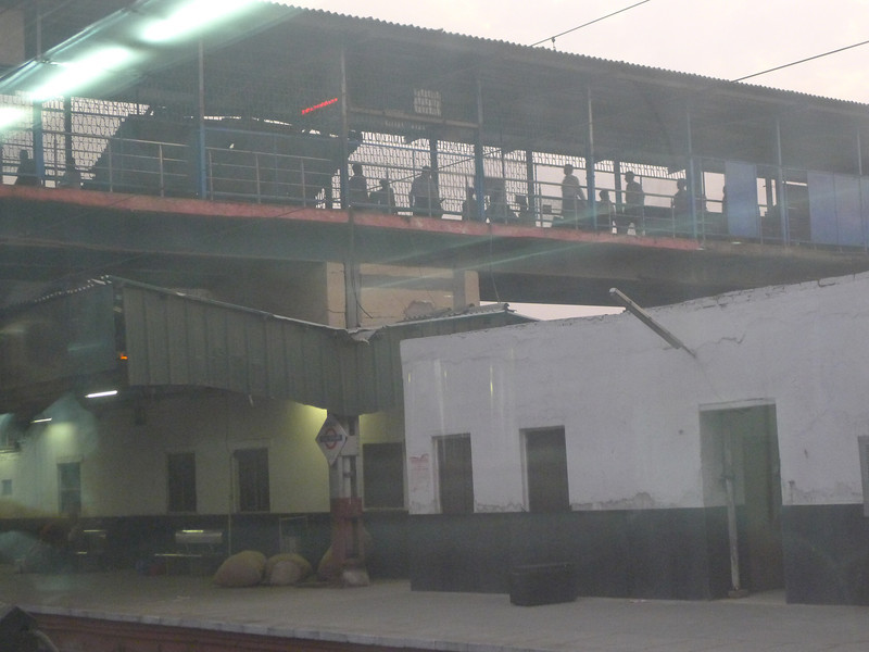 Delhi Train Station
