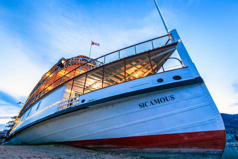 Day 82: SS Sicamous in the wind