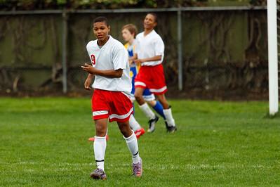 RCS MS Boys' Soccer vs CCS - March 15, 2011