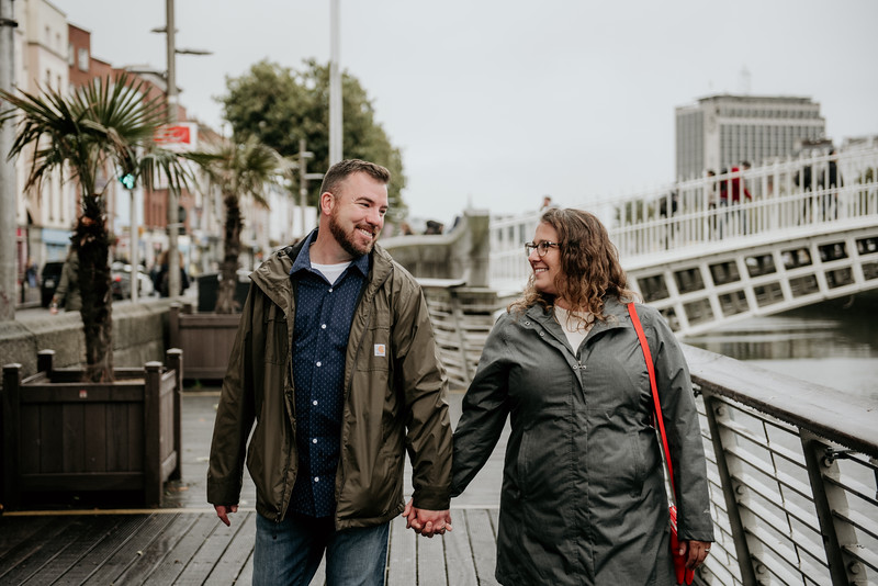 Paul and Haley's 10 year anniversary shoot in Dublin