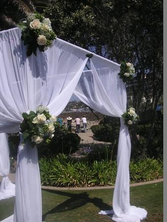 La Jolla Bride Club  arch  $325