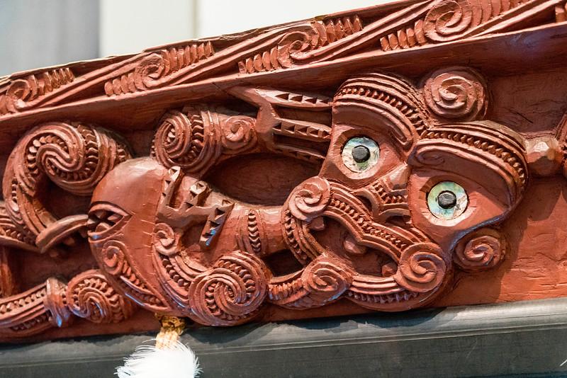 Maori Boat figure
