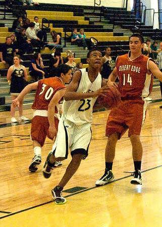 Basketball Boys JV vs Desert Edge 2/5/2010