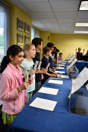Sixth Graders Ring Out the School Year with Hand-chimes