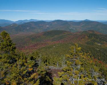 Mt. Chocorua & Middle Sister 10/10/15