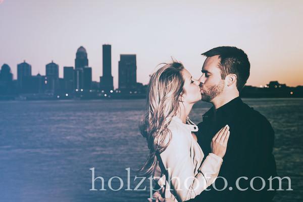 Lexie & Cody Creative Engagement Photos