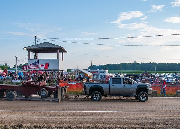 Blackstock Truck and Tractor Pull - July 6, 2013